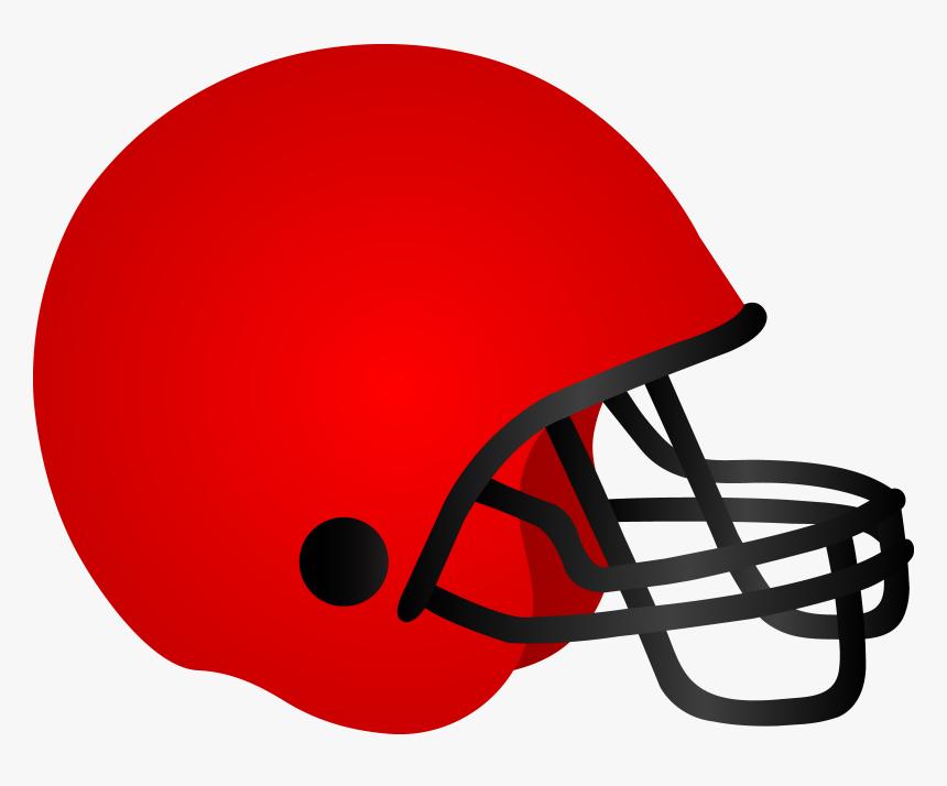 American Football Helmet Png Image - Red Football Helmet Clip Art, Transparent Png, Free Download