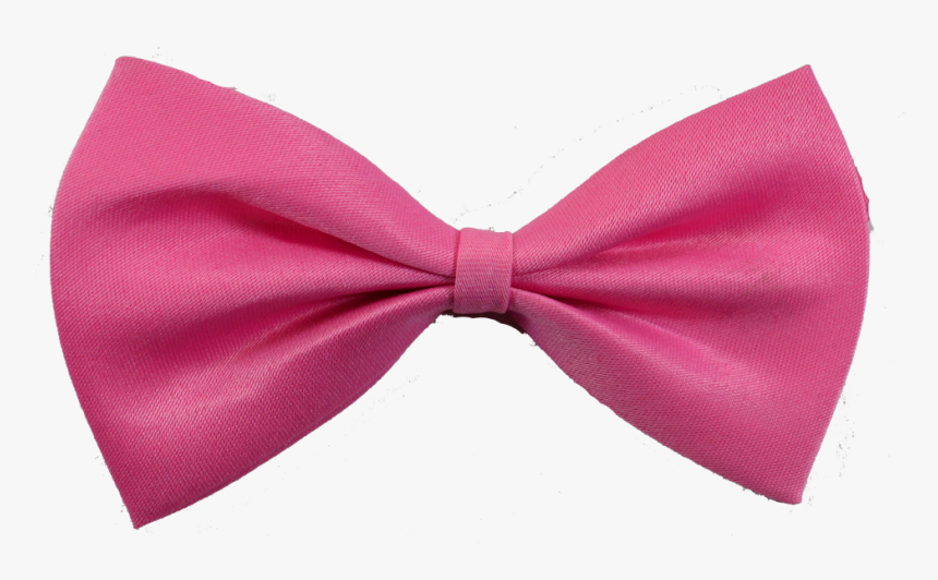 Bow Tie Pink Necktie Clothing Accessories Satin - Pink Bow Tie Png, Transparent Png, Free Download