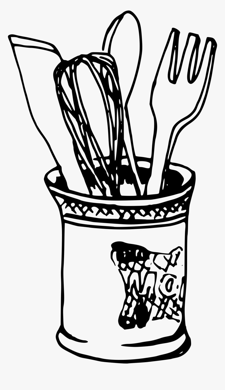 Knife Fork Drawing Png, Transparent Png, Free Download