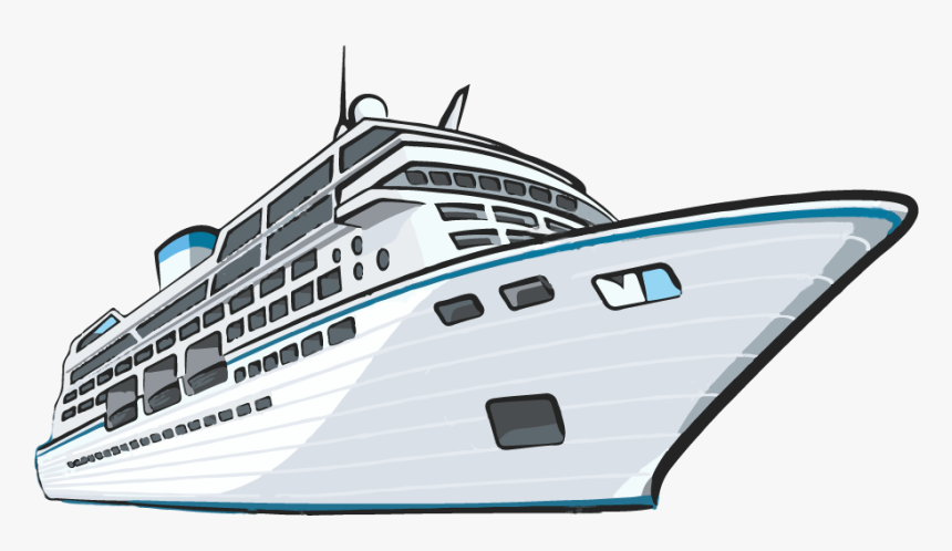 Cruise Drawing Liner Cruise Ship Clip Art Hd Png Download Kindpng