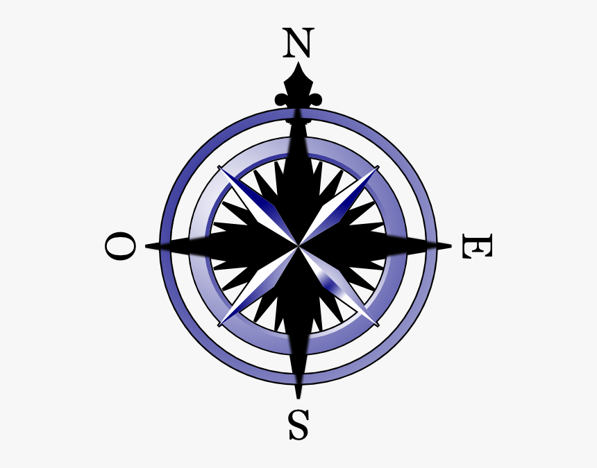Compass Rose Drawings Clipart Compass Clock Clipart Hd Png Download Kindpng