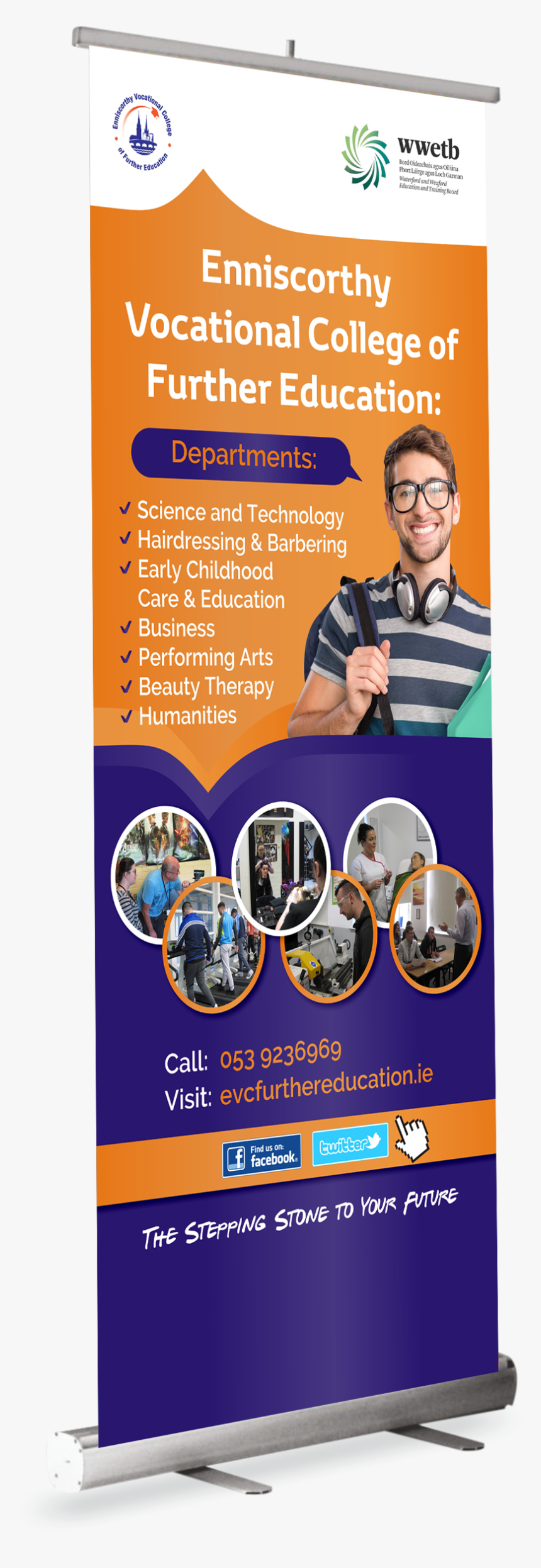 College Pull Up Banners, HD Png Download, Free Download