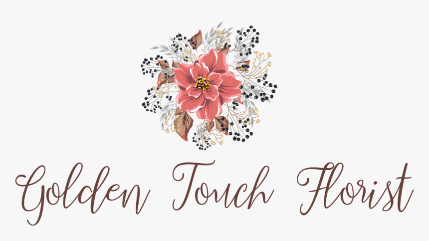 Transparent Golden Flower Png - Greeting Card, Png Download, Free Download