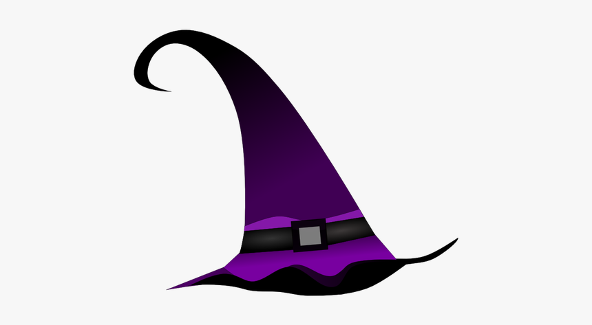 Purple Witch Hat Vector Clip Art Halloween Witch Hat Clipart Hd Png Download Kindpng
