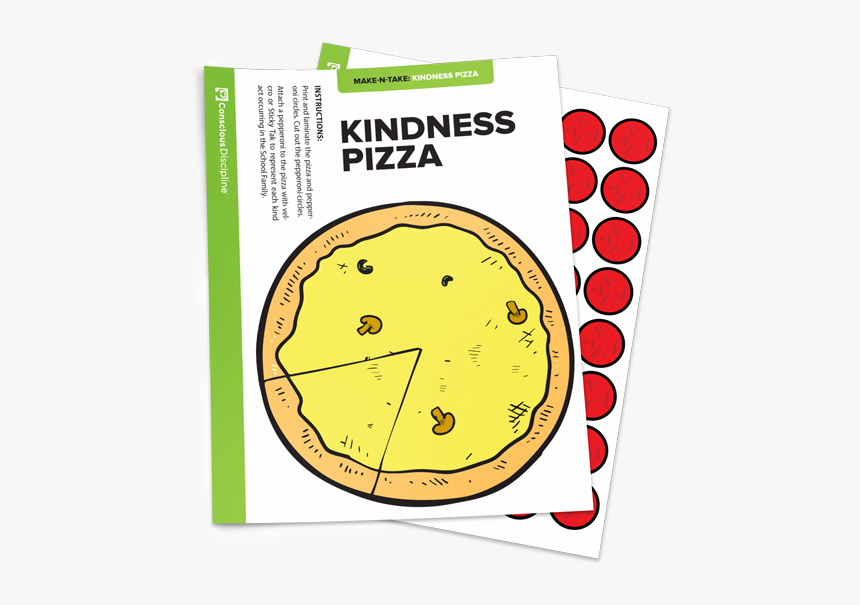 Kindness Pizza - Circle, HD Png Download, Free Download