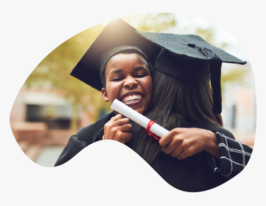 Happy African Graduate, HD Png Download, Free Download