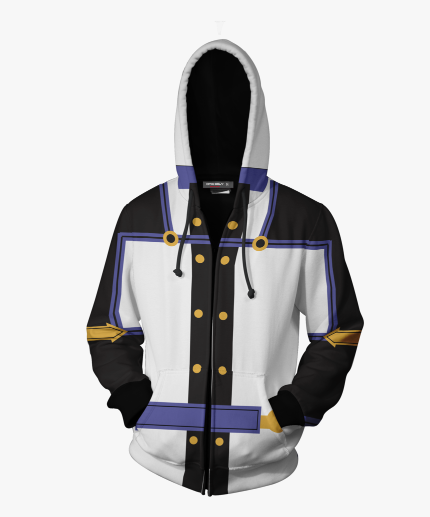 Sword Art Online The Movie Kirito Cosplay Zip Up Hoodie - Hoodie Kirito Jacket, HD Png Download, Free Download