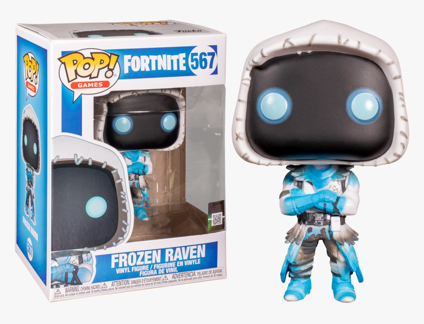 Frozen Raven Pop Vinyl Figure - Funko Pop Fortnite Frozen Raven, HD Png Download, Free Download