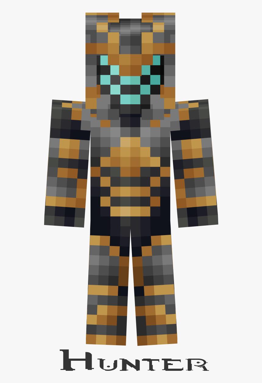 Minecraft Frost Prime Skin, HD Png Download - kindpng