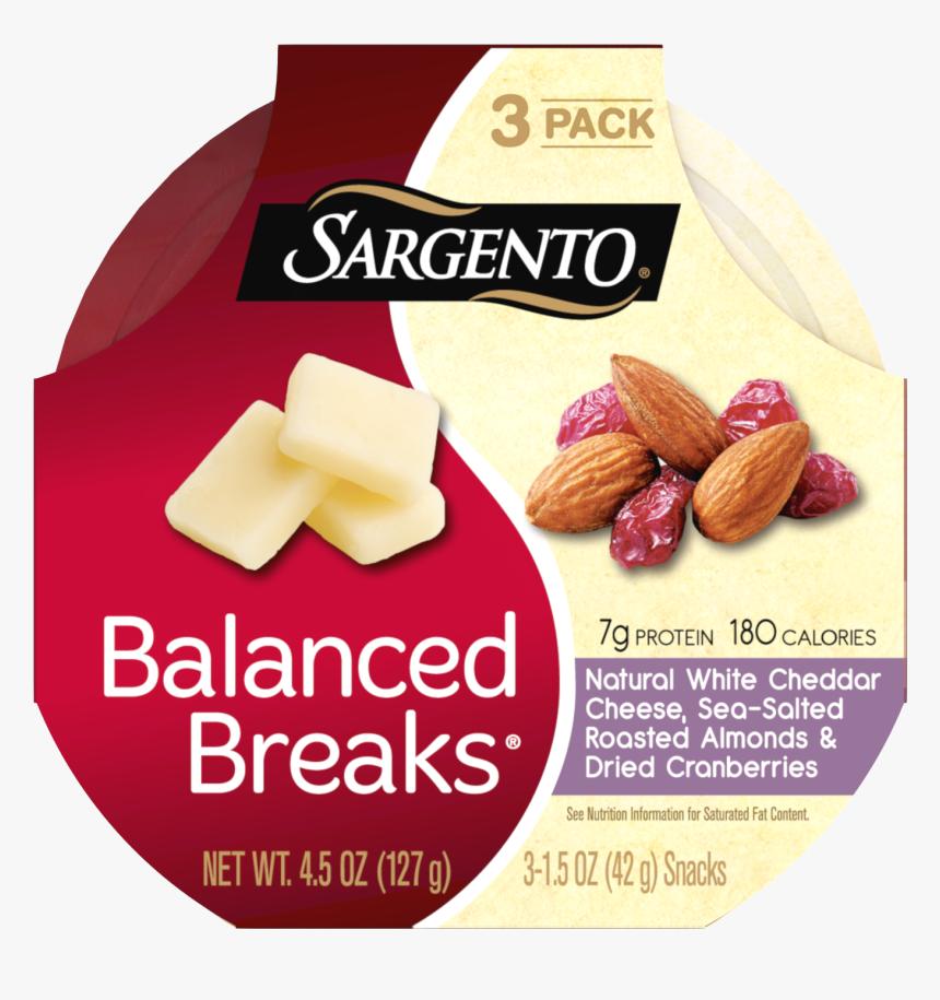 Sargento® Balanced Breaks®, Natural White Cheddar Cheese, - Sargento Sweet Balanced Breaks, HD Png Download, Free Download