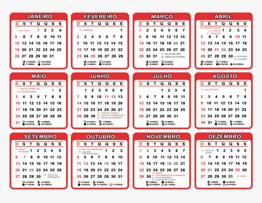 Calendario 2020 Para Imprimir Gratis, HD Png Download, Free Download