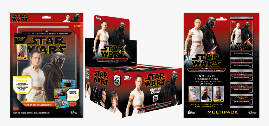 Topps Star Wars The Rise Of Skywalker Multipack, HD Png Download, Free Download