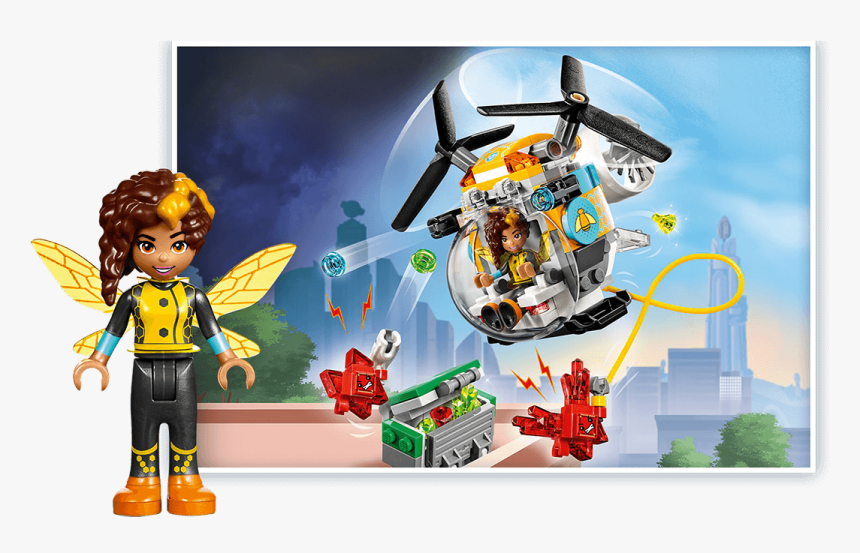 Dc Super Hero Girl Legos, HD Png Download, Free Download