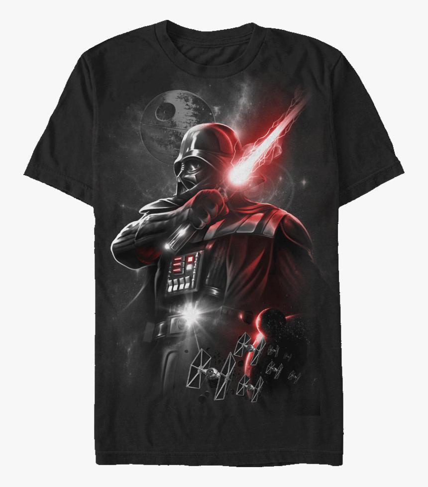 Star Wars Dark Lord Darth Vader T-shirt - Darth Vader Star Wars Mens T Shirt, HD Png Download, Free Download