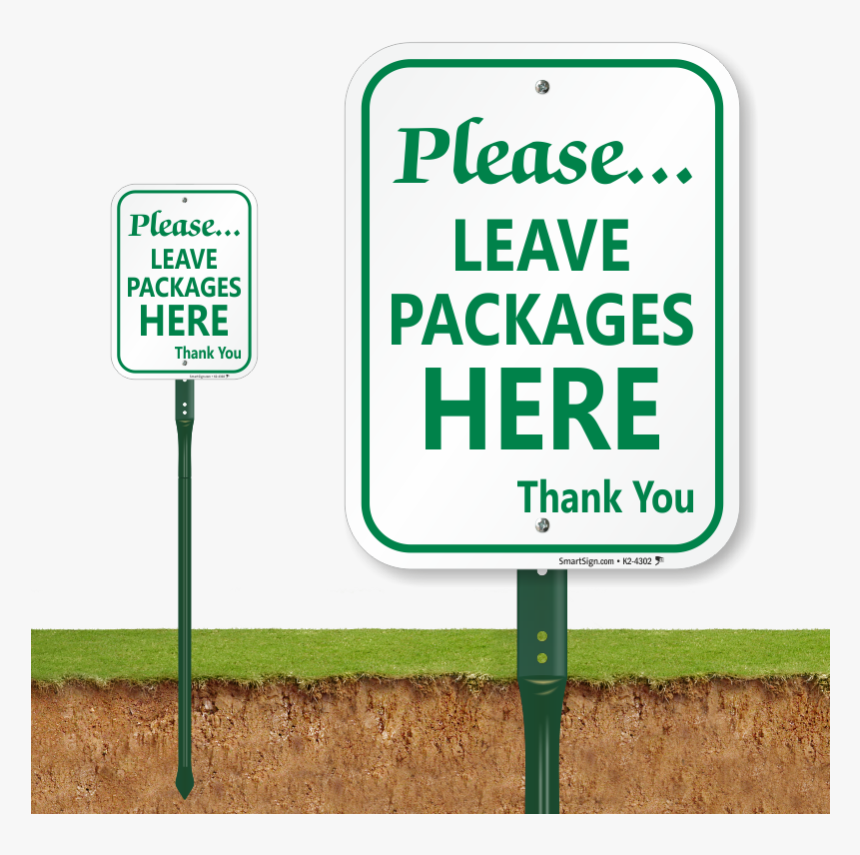 Banner Royalty Free Stock Package Delivery Signs Leave - Do Not Pick Flowers Signage, HD Png Download, Free Download