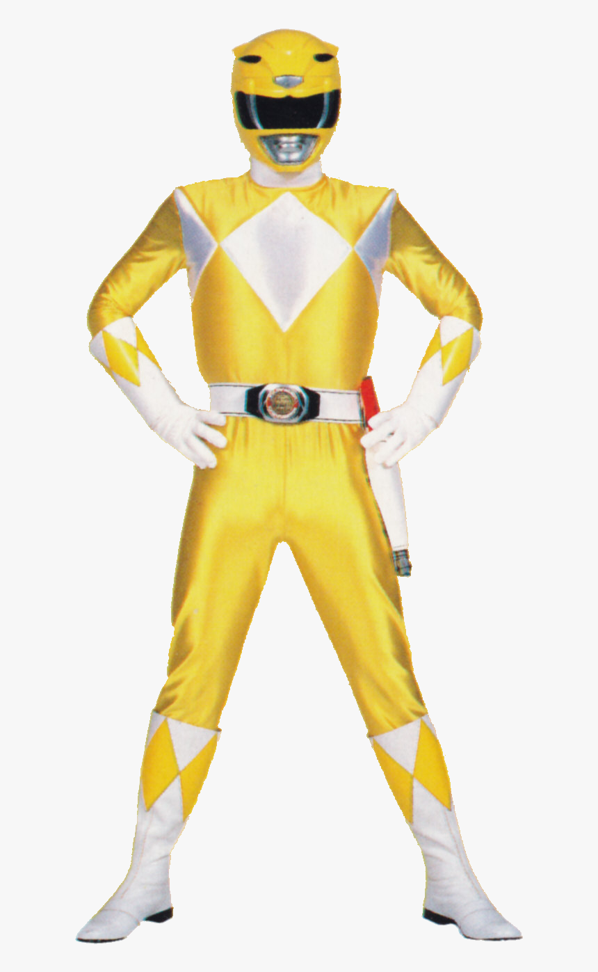 Trini Kwan Billy Cranston Aisha Campbell Kimberly Hart - Power Rangers Mighty Morphin Png, Transparent Png, Free Download