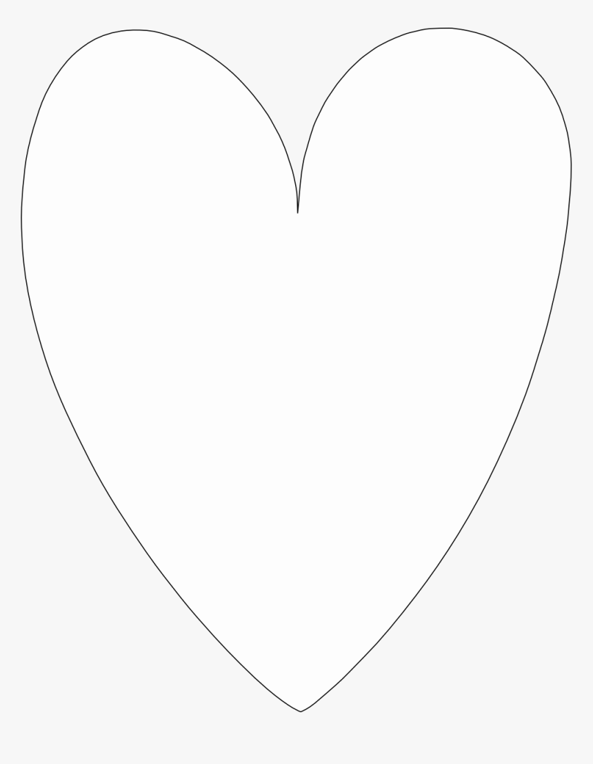 Selanit Heart Coloring Book Colouring Sheet Page Black - Heart Shape Transparent Background, HD Png Download, Free Download