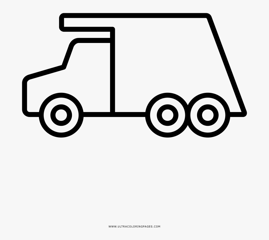 Garbage Truck Coloring Page Toy Pickup Truck Coloring Page Hd