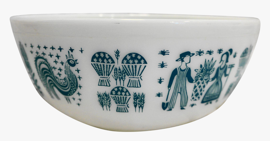 Pyrex Butter Print Mixing Bowl, HD Png Download, Free Download