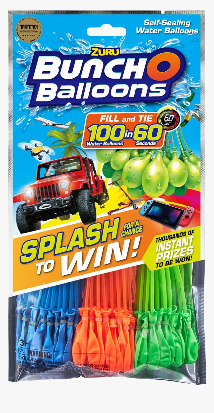 Zuru Bunch O Balloons Win, HD Png Download, Free Download