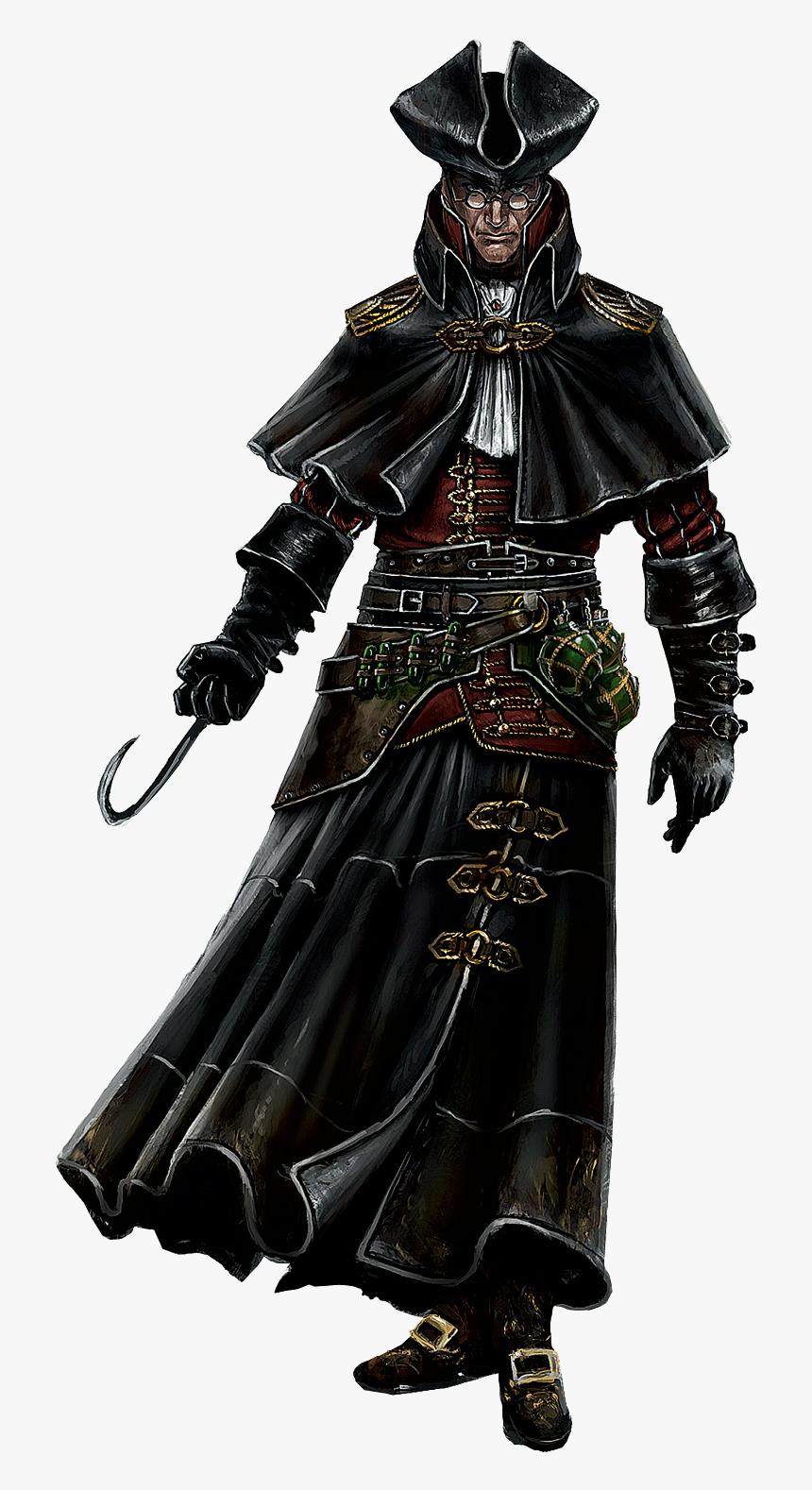 Assassin S Creed Black Flag Character Concept Art Hd Png Download Kindpng
