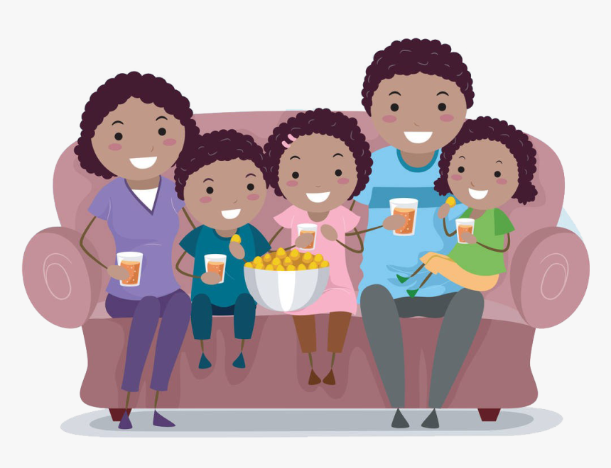 Family Cartoon Clip Art Creative Cartoon Characters Free Biracial Family Clipart Hd Png Download Kindpng