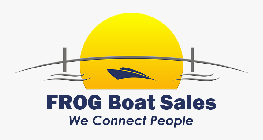 Frog Boat Sales Logo - Graphic Design, HD Png Download, Free Download