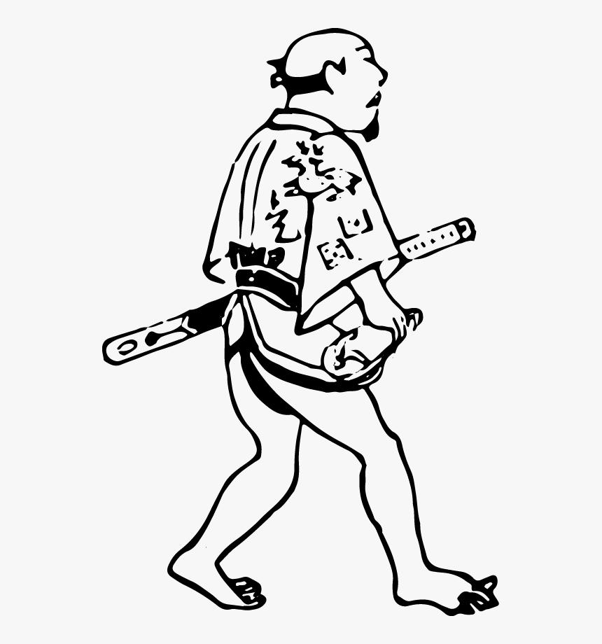 Free Resource For Design Of Men Walking Barefoot - Illustration, HD Png Download, Free Download