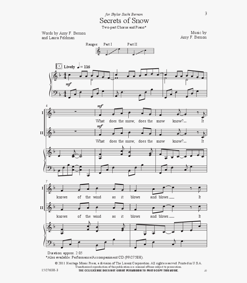 Transparent Snowfall Png - Blue Piano Scale Pdf, Png Download, Free Download