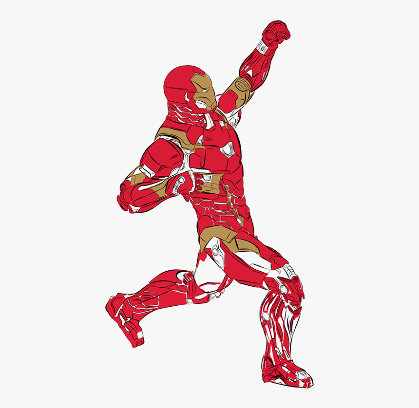 Drawing Clipart , Png Download - Iron Man, Transparent Png, Free Download