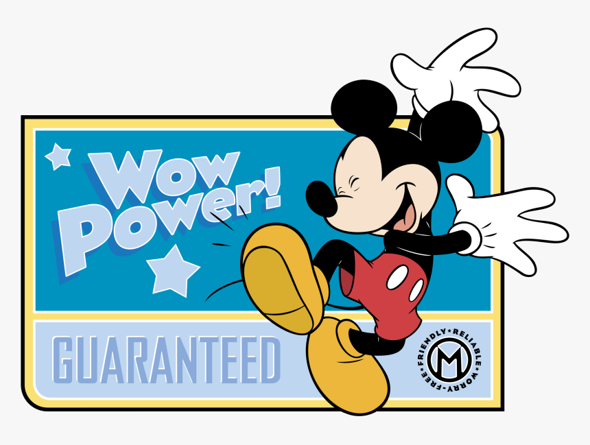 Mickey Mouse Logo Png Transparent - Mickey Mouse, Png Download, Free Download