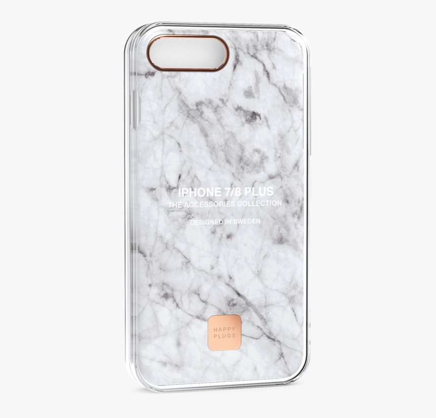 Iphone 8/7 Plus Case White Marble - Happy Plugs Iphone 7 Case Marble, HD Png Download, Free Download