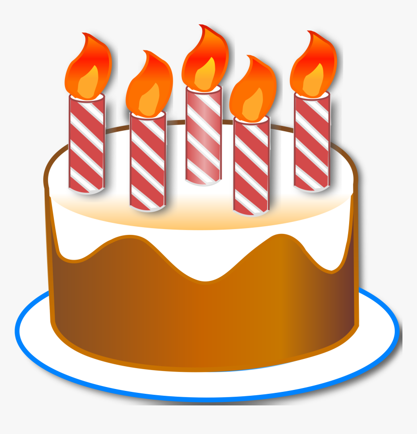 Free Birthday Cake With Candle Clipart In Ai Svg Eps Or Psd
