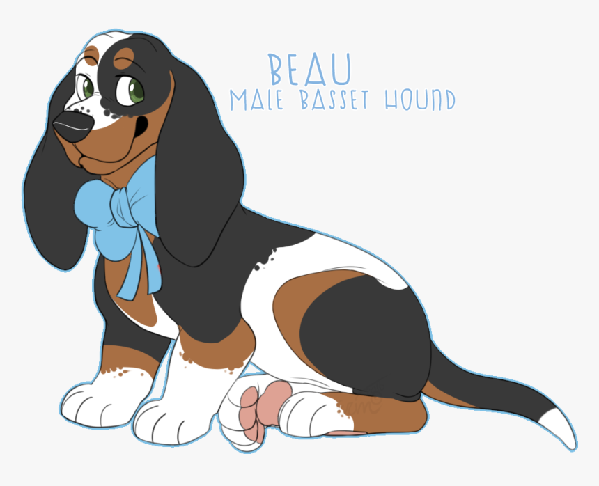 Basset Hound Ofa - Dog Catches Something, HD Png Download, Free Download
