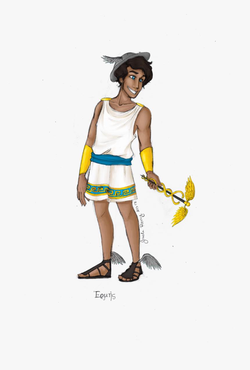 Hermes Drawing Greek Goddess Huge Freebie Download - Greek God Hermes, HD Png Download, Free Download