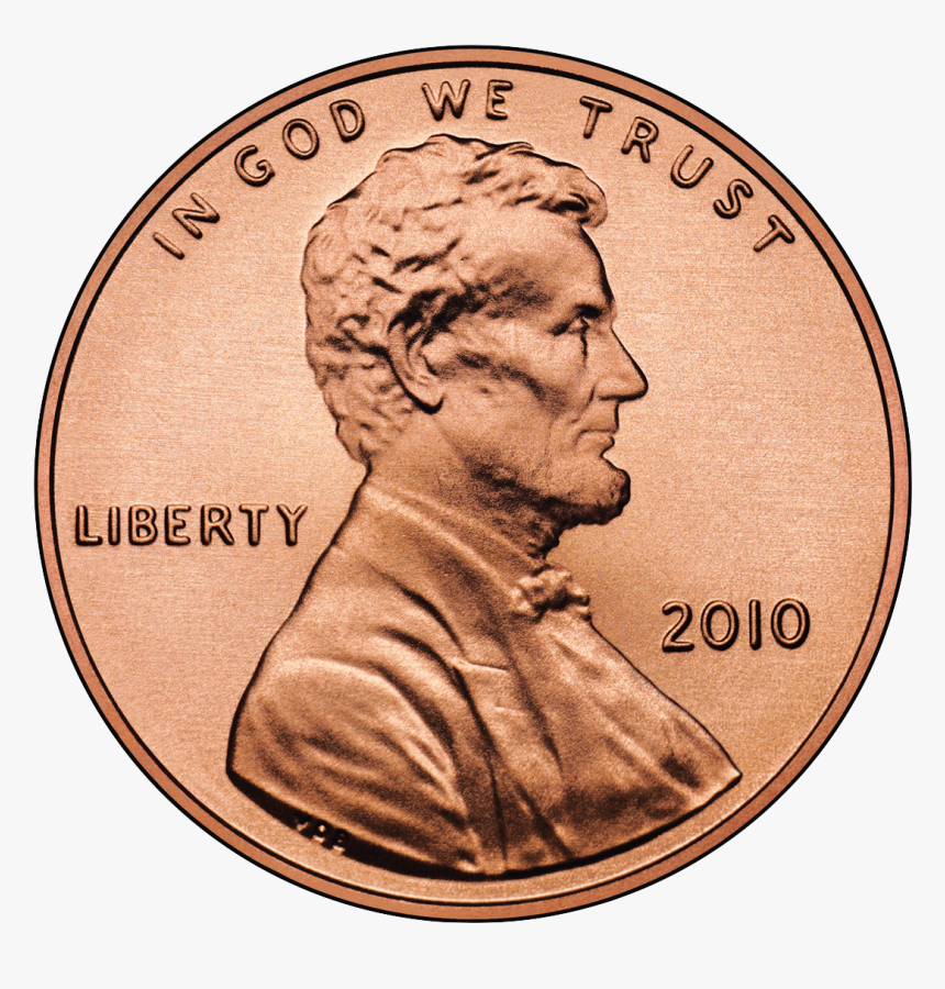 2010 Cent Obverse - Penny Transparent Background, HD Png Download, Free Download
