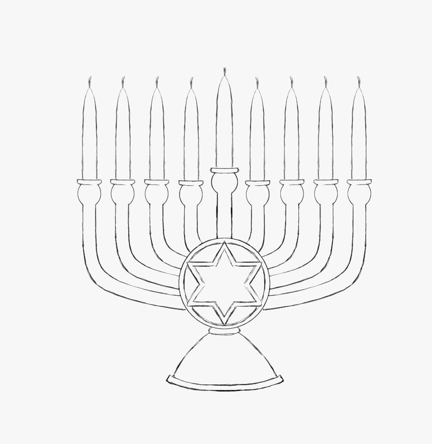Menorah Coloring Page - Coloring Home | 885x860