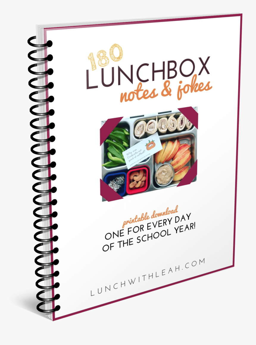 180 Lunchbox Notes And Jokes Cover - 5 Sınıf Türkçe Akıllı Defter, HD Png Download, Free Download