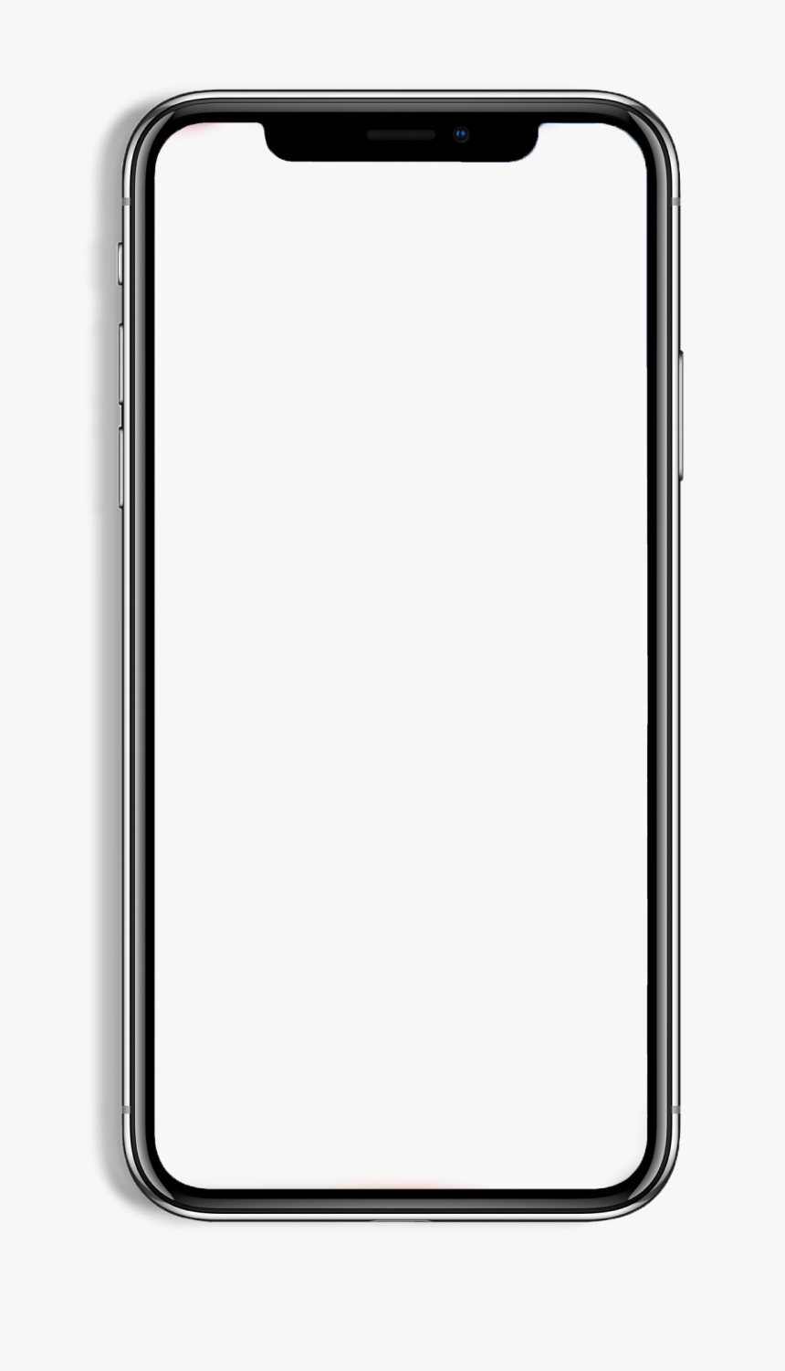 Iphone X Device Frame Png, Transparent Png, Free Download