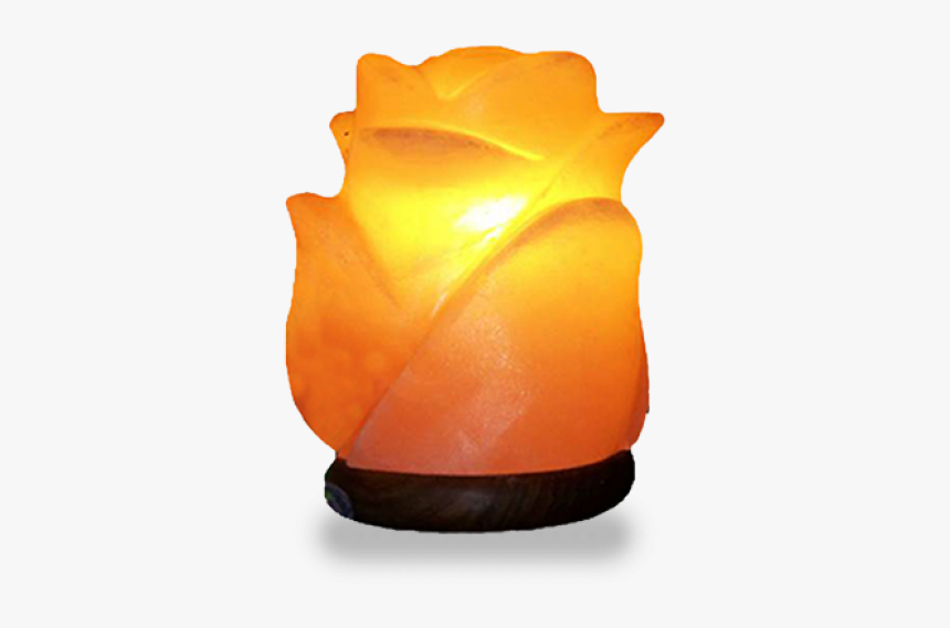 Rose Shape Geometrical Usb Salt Lamp - Candle, HD Png Download, Free Download