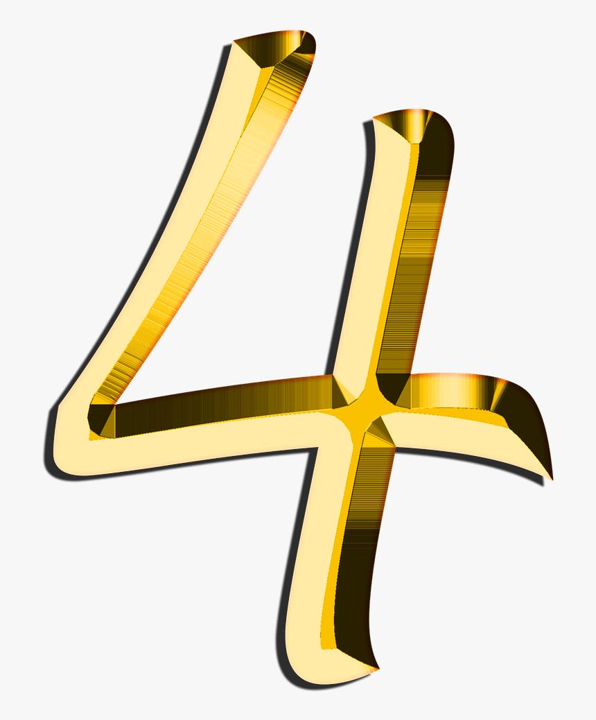 Golden Number - Golden Number 4, HD Png Download, Free Download