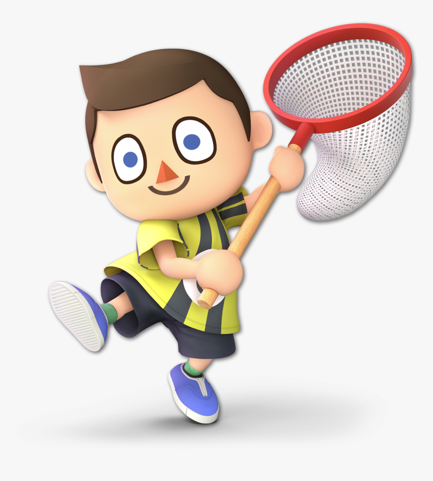 Villager Alternate Costumes Super Smash Bros - Super Smash Bros Ultimate Villager Render, HD Png Download, Free Download