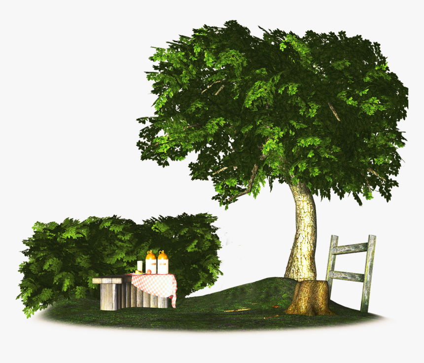 3d Trees Png, Transparent Png, Free Download
