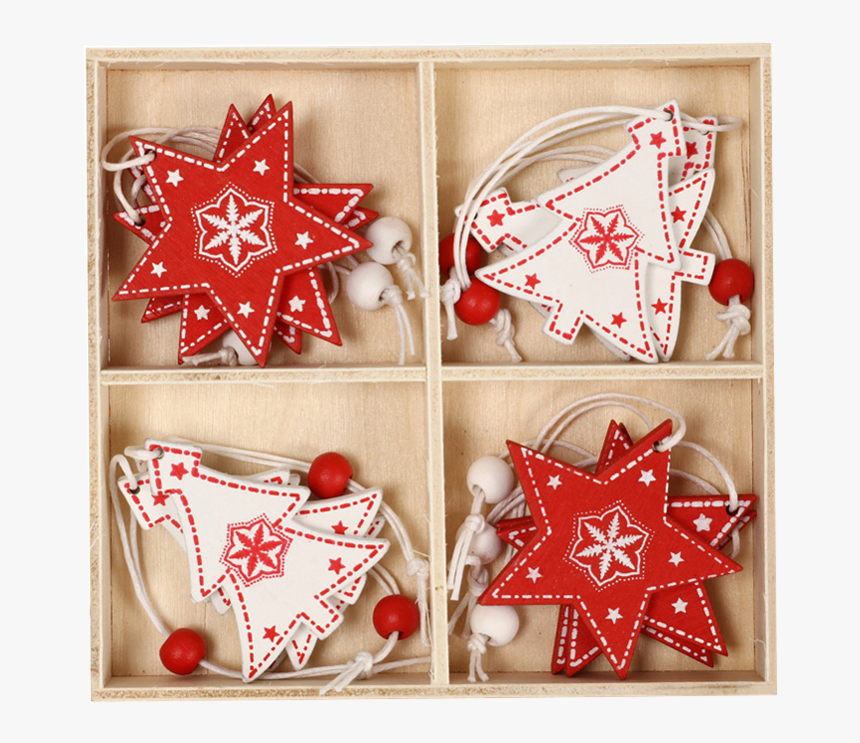 Christmas Wooden Hanging Ornament Xmas Tree Pendants - Christmas Ornament, HD Png Download, Free Download