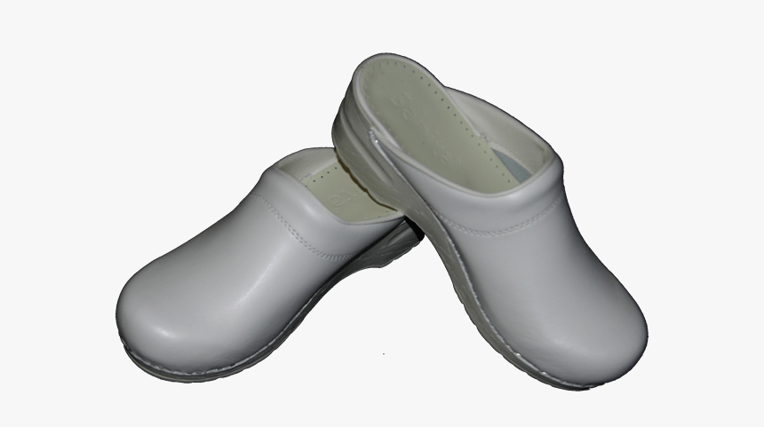 White Clogs - Slip-on Shoe, HD Png Download, Free Download