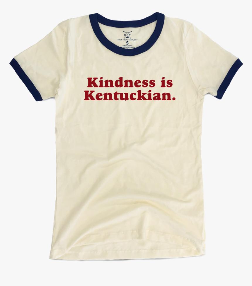 Kindness Is Kentuckian Ladies Ringer Tee - Journey Shirt, HD Png Download, Free Download