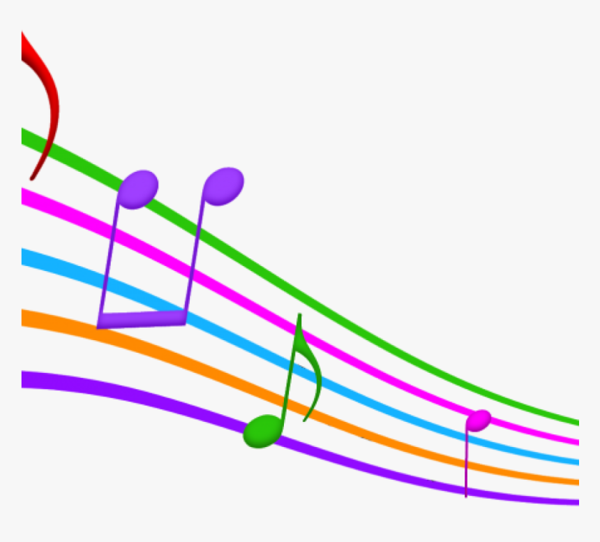 Music Notes Images Free Clip Art Clipart Musical At - Colored Musical Notes Clip Art, HD Png Download, Free Download