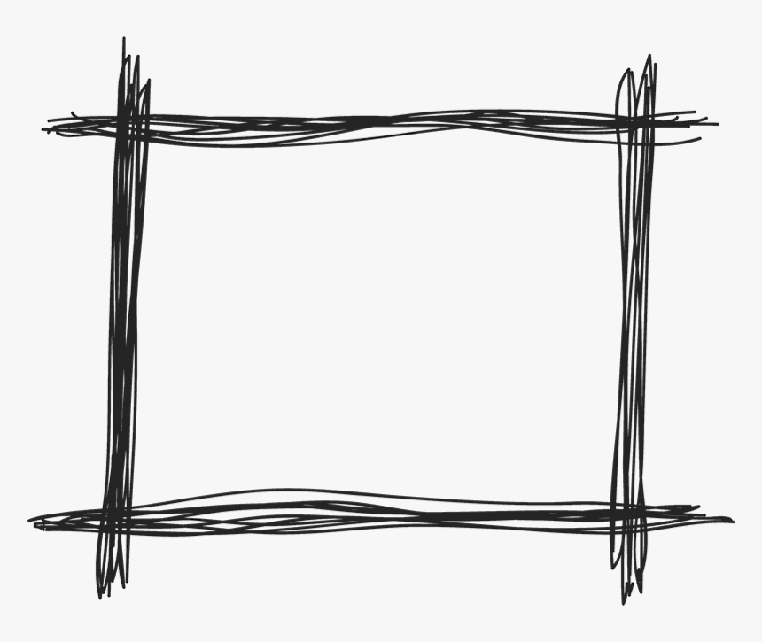 Border Hand Drawn Square, HD Png Download, Free Download