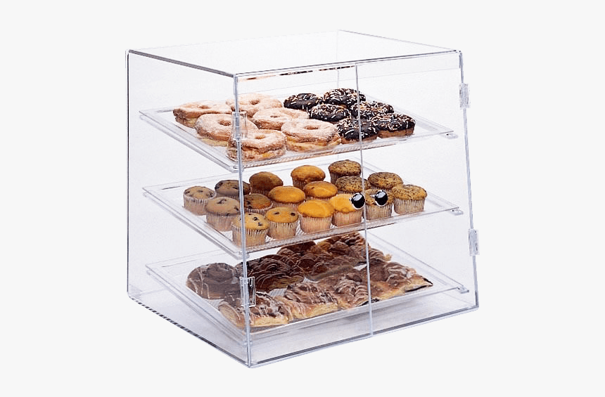 Food Service Displays - Bakery Acrylic Display Case, HD Png Download, Free Download