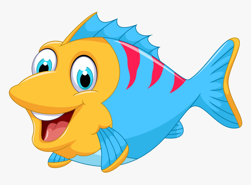 Fish Fish Cartoon Clip Cute Fish Clipart Hd Png Download Kindpng